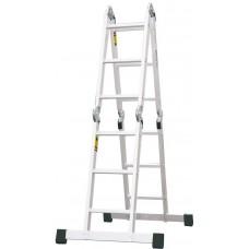Rebrík štvordielny kĺbový 4x3 PROTECO 360cm
