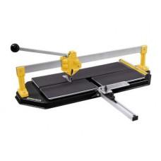 Rezačka obkladu a dlažby s vodiacou x-lištou a hliníkovým stolom 600mm PROTECO