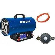 Plynový ohrievač 15KW DEDRA