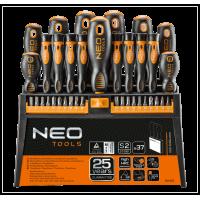 Sada skrutkovačov 37 dielov NEO