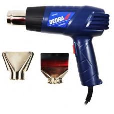 Teplovzdušná pištol opaľovacia 2000W Dedra