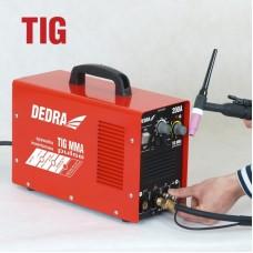 Zvárací invertor MMA+TIG 200A DEDRA C