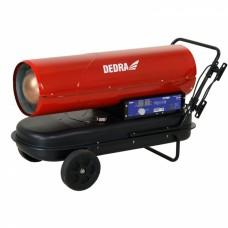 Naftový ohrievač 50KW DEDRA s termostatom.