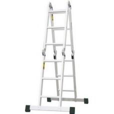 Rebrík štvordielny kĺbový 4x4 PROTECO 472cm